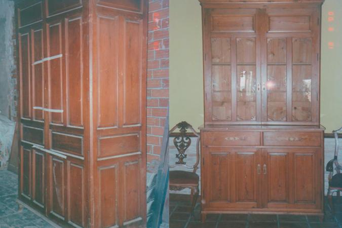 Restauracion en madera
