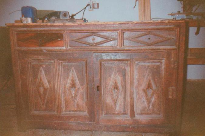Mueble sin Restaurar