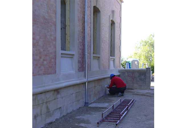 Limpieza y tratamiento de piedra y ladrillo