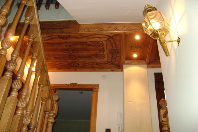 Artesonado en madera
