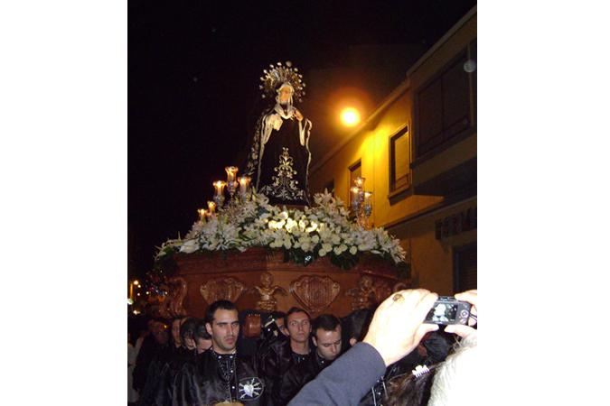 Trono Virgen de los Dolores (Torrevieja)