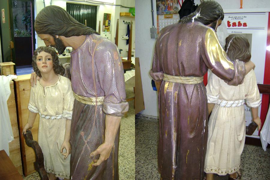 San Jose y Niño Jesus